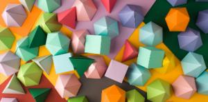 Geometria a modelovanie tvarov z mäkkej modelovacej hmoty